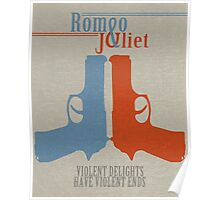 Romeo and Juliet Violence  Poster