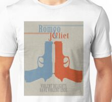 Romeo and Juliet Violence  Unisex T-Shirt