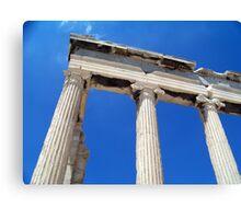 Greek Columns Canvas Print