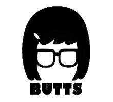 Tina Belcher BUTTS by jaimefoxxx