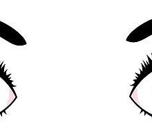 Anime eyes 6 by AnnArtshock