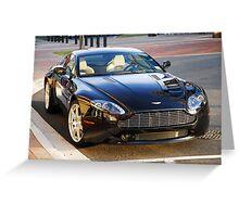 Aston Martin Vantage V-8 Greeting Card