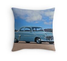1952 Ford Customline Coupe Throw Pillow