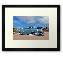 1952 Ford Customline Coupe Framed Print