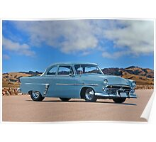 1952 Ford Customline Coupe Poster
