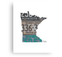 Minnesota Home Canvas Print