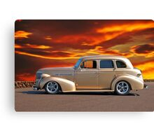 1939 Chevrolet Master Deluxe Sedan Canvas Print