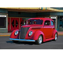 1937 Ford Tudor Sedan Photographic Print