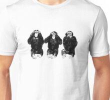 Three Apes Unisex T-Shirt