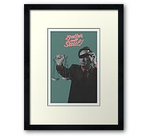 Better Call the Lawyer Framed Print