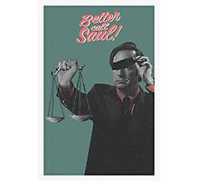 Better Call the Lawyer Photographic Print