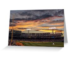 Fenway Sunset Greeting Card