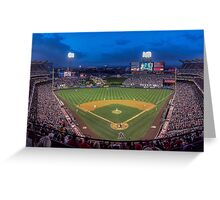 A Night at The Stadium Greeting Card