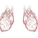 double heart carved  by MarinaDekker