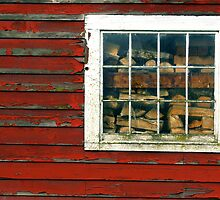 Barn Window by imarkimages