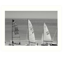 Three Sails Art Print