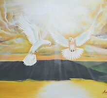 Two Doves of Grace  by Aaron McKenzie