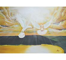 Two Doves of Grace  Photographic Print