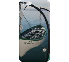 LIFE BOAT NUMBER 3 iPhone Case/Skin