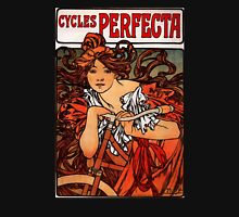 'Cycles Perfecta' by Alphonse Mucha (Reproduction) T-Shirt