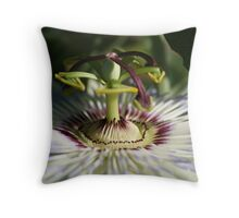 Floral Fountain Throw Pillow