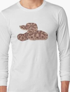 Hognose Snake Long Sleeve T-Shirt