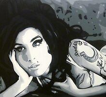 Amy Winehouse by thepurposemaker