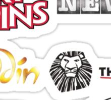 Disney On Broadway Sticker
