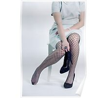 fishnet tights Poster