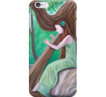 The Harpist and the Tree iPhone Case/Skin