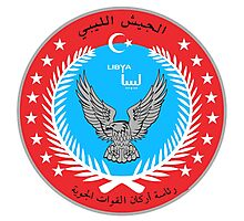 Emblem of the Libyan Air Force  Photographic Print