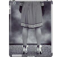 black and white iPad Case/Skin