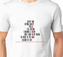 Overdone Broadway Songs Unisex T-Shirt