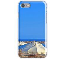 beach umbrellas iPhone Case/Skin