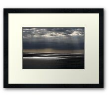 Heavenly Touch Framed Print