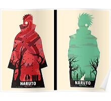 Naruto: Obito and Kakashi Poster