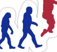 Evolution basket Dunk ! Sticker