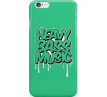 HEAVY BASS MUSIC / TRAP / DUBSTEP / DNB / TECHNO iPhone Case/Skin