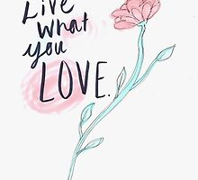 Live what you love by simplysethh