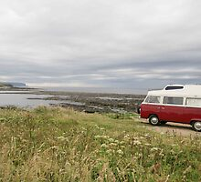 VW Camper on Orkney by R. F.  Simpson