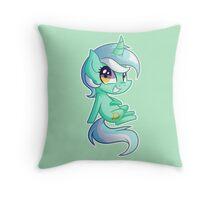Chibi Lyra Throw Pillow