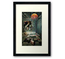 DEVIL'S DESSERT Framed Print