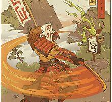 Juggernaut Dota 2 by wowzuki