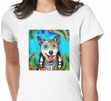 Heeler I Womens Fitted T-Shirt