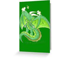 St. Patrick's Day Dragon Greeting Card