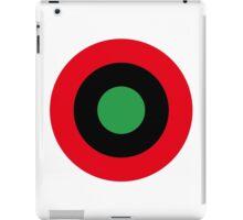 Roundel of Libyan Air Force, 1959-1969 iPad Case/Skin
