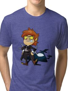 Bipper Pines Gravity Falls Tri-blend T-Shirt