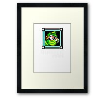 Bubbleman Framed Print