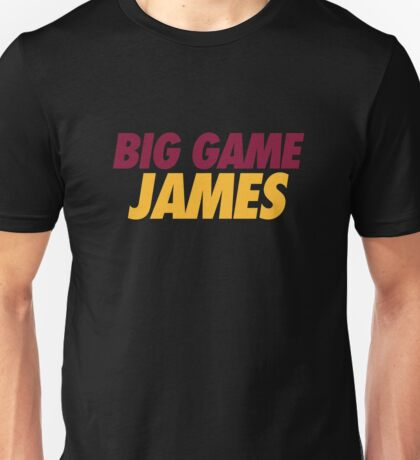 BIG GAME JAMES  Unisex T-Shirt