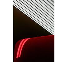 Red Black White Photographic Print